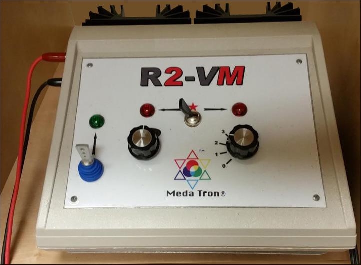 Meda Tron R2-VM Electro Therapy Stimulator® and Detox Footbath Combination
