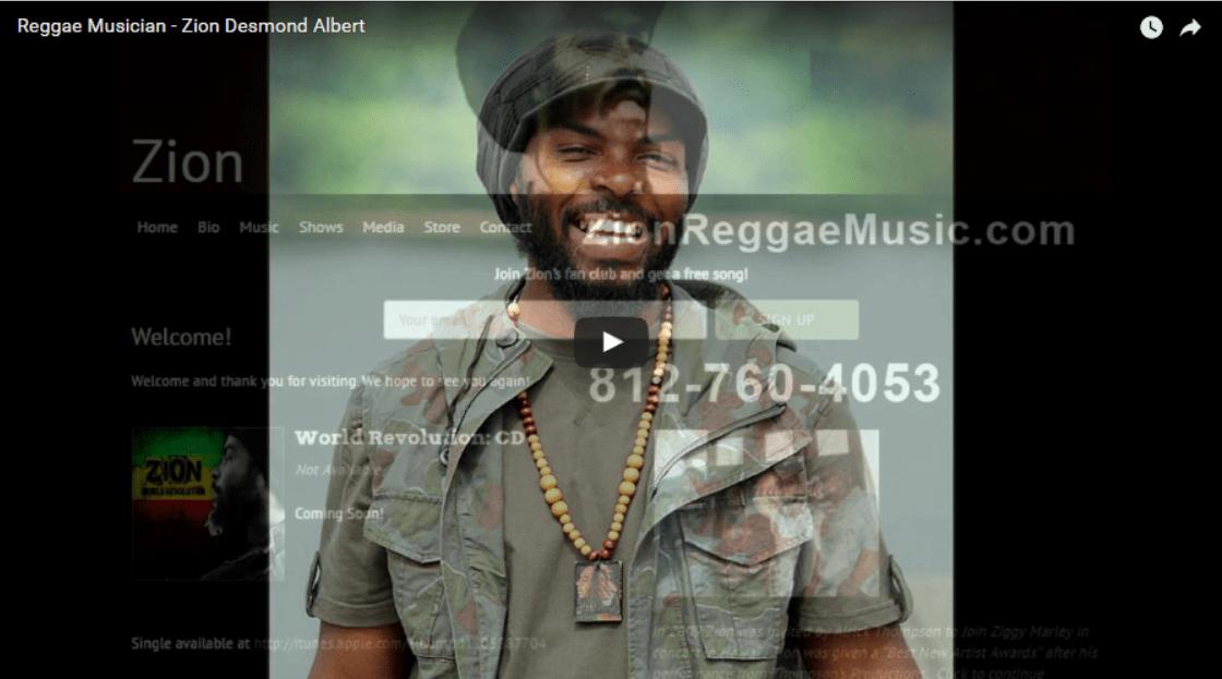 Reggae Musician – Zion Desmond Albert